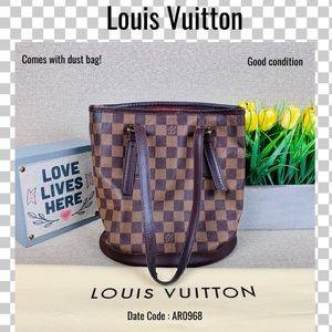 Louis Vuitton Shoulder bag mare bucket ebene tote